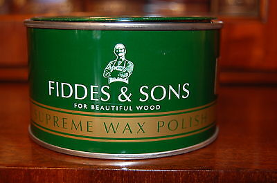 Fiddes Rugger Brown Supreme Furniture Wax Polish 400ml