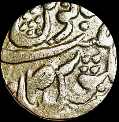 India - Kaithal State - Lal Singh - 1 Rupee (1781-1819 Ad) Silver Coin  #ktl4