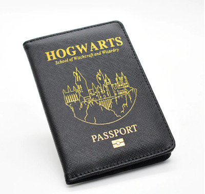 HOT! Harry Potter Hogwarts Travel Passport Cover Hogwarts citizen FREE SHIPING