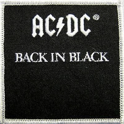 Ac/dc Aufbügler / Usa Patch # 43