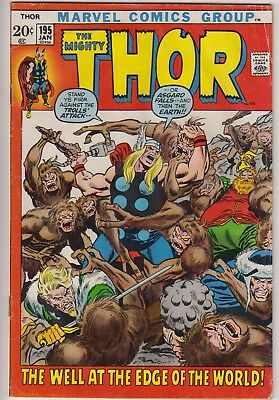 "Thor 195 - ""The Well at the Edge of the World!"" Bronze age cents issue"