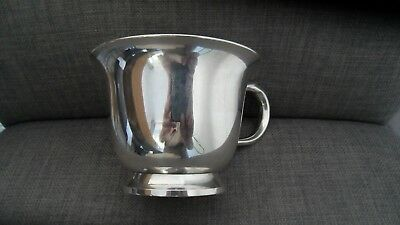 Christofle France Large Vintage Silver Plated Cup