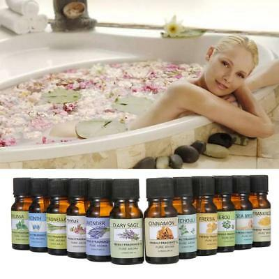 12Types Fragrance Essential Oils for Air Diffuser Aroma Therapy Humidifier Mist