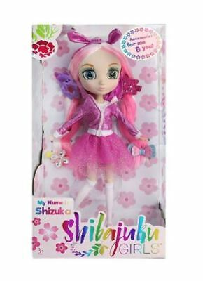 Shibajuku Girls Shizuba 13'' Wave 2 Japanese Fashion Doll W/ Accesories 3+