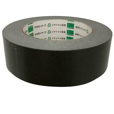 Black Masking Backing Framing Kraft Paper Tape 38mm x 50m Self Adhesive Okamoto