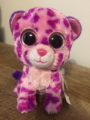 a017795f9b4 Ty Beanie Boos Glamour Pink Purple Leopard 6