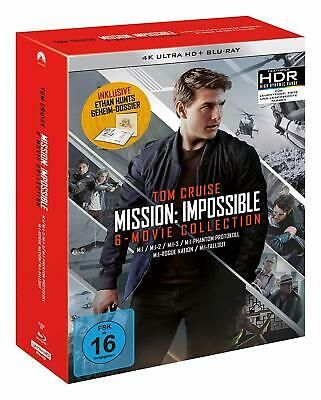 Mission: Impossible The 6 Movie Collection - Limited Boxset 4K UHD [Blu-ray] NEU