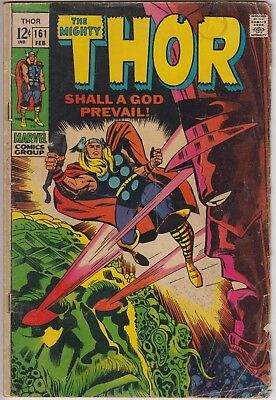 Thor 161 - Galactus appears & Thor 163 - 2nd brief app of HIM (Warlock)
