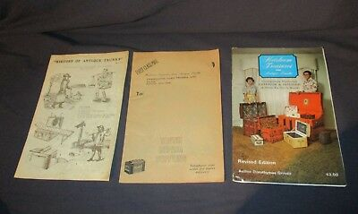 LOT 3 1970'S booklets on Antique Trunks Chest Restoration Supplies Great photos