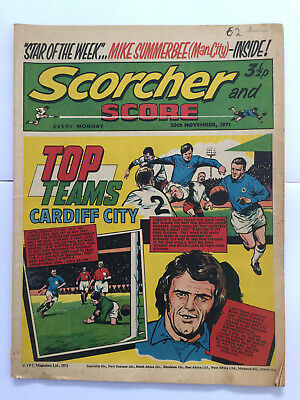 Scorcher and Score 20th November 1971 UK Comic