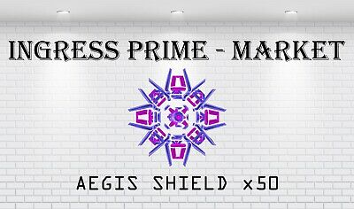 Ingress 100 Aegis, AXA Shield Very Rare! VERY FAST DELIVERY! Ready To Drop