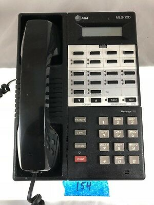 #154 Refurbished Avaya/Lucent MLS-12D  Business Telephone 107092157 7311H06