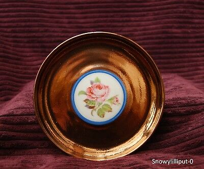 Vintage Small Plate Creigiau Pottery - Wales Copper Lustreware