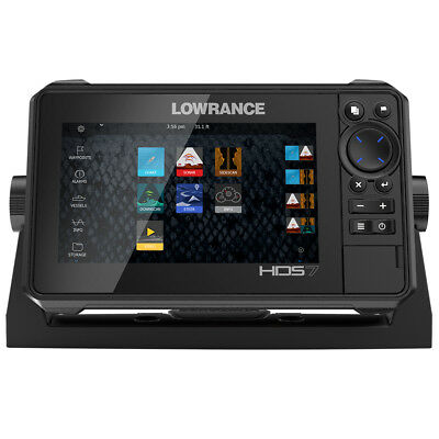 Lowrance HDS-7 LIVE w/Active Imaging 3-in-1 Transom Mount  C-... [000-14416-001]