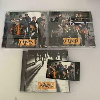 STRAY KIDS SKZ2020 3 type CD set + 1 team photocard photo card cd dvd straykids