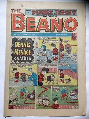 DC Thompson THE BEANO Comic. Issue 2132. May 28th 1983. **Free UK Postage**
