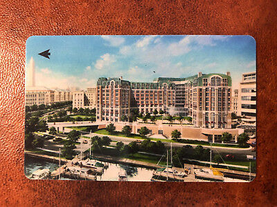 Mandarin Oriental Washington, D.C. VINTAGE Hotel Key Card