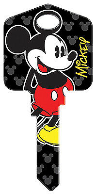 HILLMAN FASTENERS Disney Mickey Mouse Painted Key Blank 87649