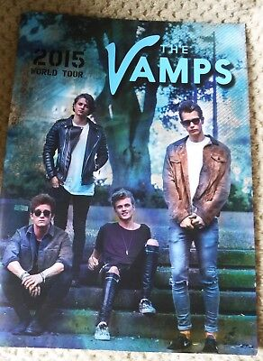 The Vamps 2015 World Tour Programme Rare Collectors Item