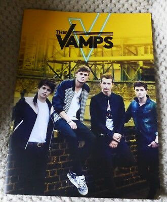The Vamps 2016 Programme Rare Collectors Item