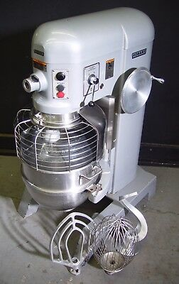 HOBART 60QT 60 QT Dough Mixer H600 with Safety Cage 2 HP *Three Phase*