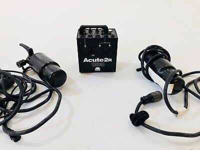 Profoto Acute 2 1200 PowerPack - Includes 2 D4 Flash Heads
