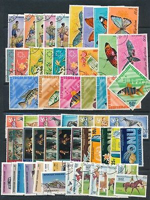 Togo **140+ Different 1965-1982** Butterflies, Animals, Soccer, Scouting....
