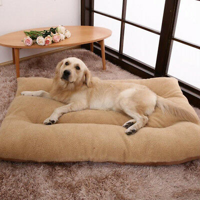Extra Large Dog Bed Ultra Soft Foam Orthopedic Durable Jumbo Winter Warm Mattres