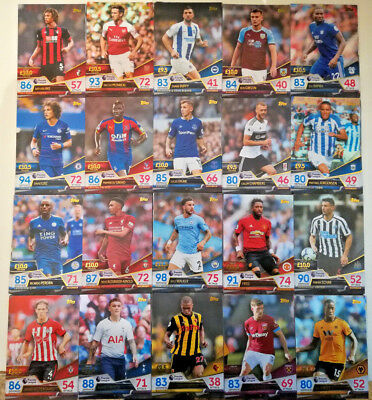 Match Attax ULTIMATE 2018-2019 ☆☆☆ TEAM SETS ☆☆☆ All 5 cards 18/19