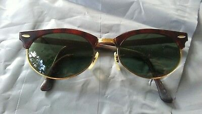 Vintage Ray-Ban Bausch & Lomb Sunglasses Tort Brown And Gold
