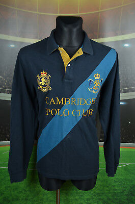 Joules Cambridge Polo Club Football Shirt (L) Jersey Top Vtg Trikot Classic Fit