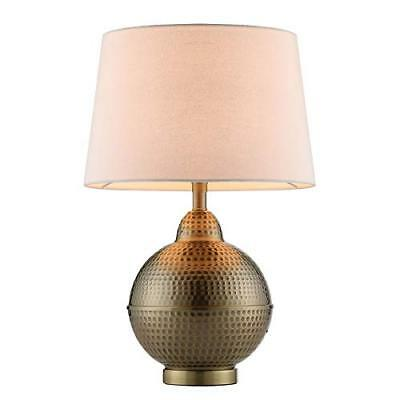 CO-Z Hammered Pot Table Lamps, Large Modern & Contemporary White Shade with