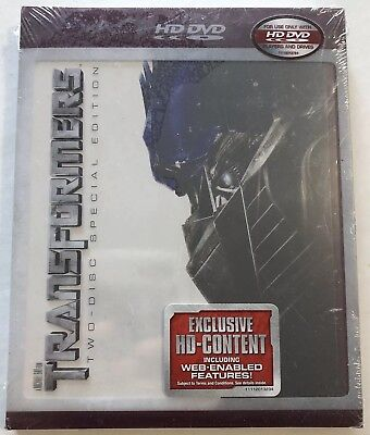 Transformers (HD DVD, 2007, 2 Disc Set, Special Edition, Canadian) New