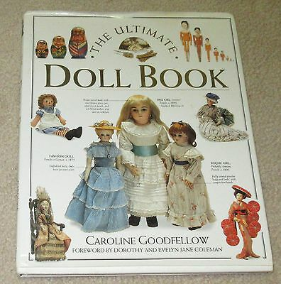 The Ultimate Doll Book - Antique Reference Caroline Goodfellow