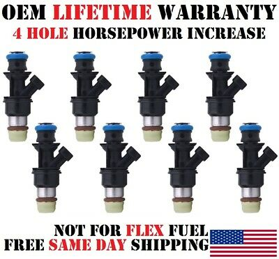 8pcs OEM Fuel Injector 17113868 for GMC Savana 1500 Cadillac 5.3 6.0