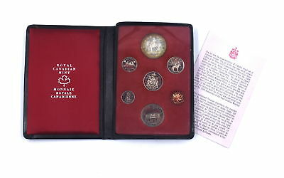 1973 Canadian Double Dollar Prestige Proof Set 50% Silver Dollar Royal Mint Rcmp