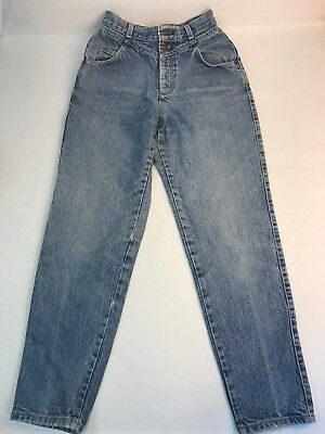 Vintage Women's Levi's High Rise Denim Jeans Size 26x29 Tapered