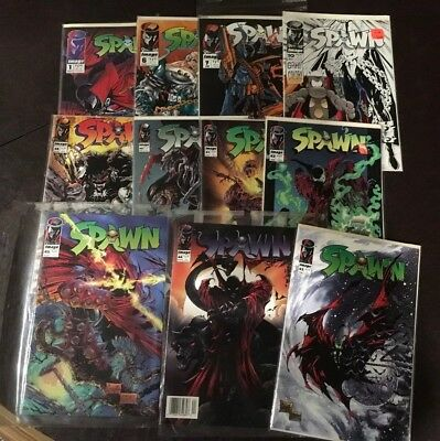Comic book collection Image SPAWN lot