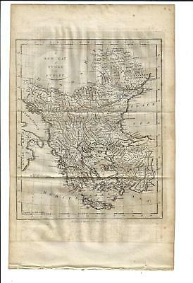 1784 Folding A New Map Of Turkey In Europe