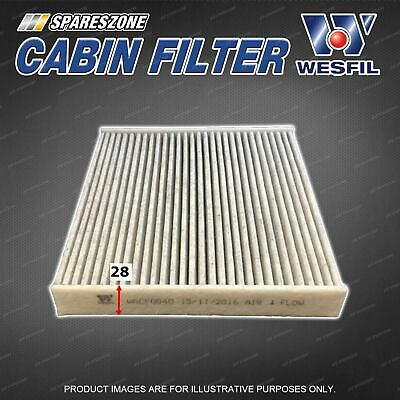 Cabin Air Filter For Hyundai Getz TB 1.3L 1.4L 1.5L 1.6L 4CYL Refer Ryco RCA107P