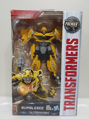 NEW Transformers The Last Knight Premier Edition Bumblebee FIGURE 630509578740