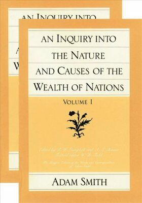 The Wealth of Nations: v. 1 & 2 by Adam Smith 9780865970083 (Paperback, 1982