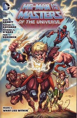 He-Man and the Masters of the Universe volume 4 trade paperback DC Comics