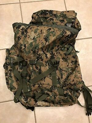 Marine Corps MARPAT molle Backpack. New!