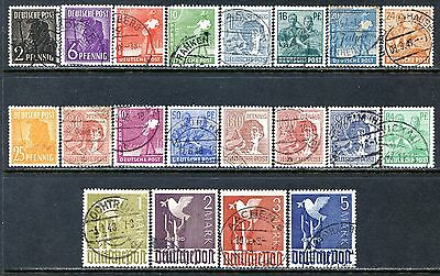 Germany Postage Stamps Scott 557-561, 563-576, 571a, Used Partial Set!! G1133a
