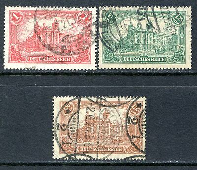 Germany Postage Stamps Scott 111-113, Used Partial Set!! G1510e