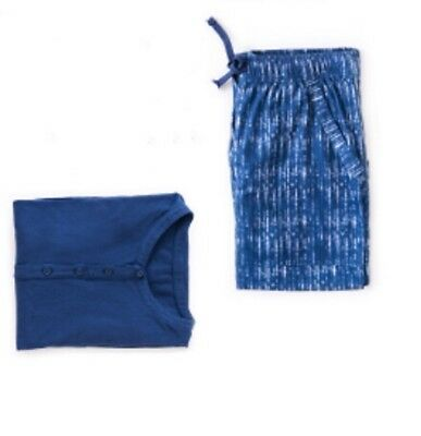 EVA AIR's New Style Blue Apujan Two pieces Pajama-size L