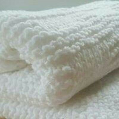 Baby Blocks Blanket Knitting Pattern, Easy, Straight Needles, ***TOP SELLER***