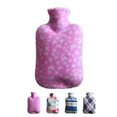 2000ml Hot Water Bottle Cover Only Coral Fleece Soft Bag Winter Warm Hand Foot