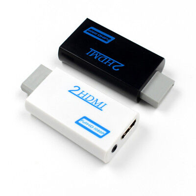 Wii to HDMI HD Video Converter Adapter Cable Cord Upscaling 720P 1080P & HDMI